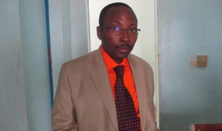 Visite du Professeur KENMOGNE SIMO Alain à l'UPO (photo)