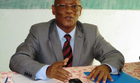 Le Professeur Ibrahima LY à l'UPO