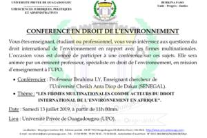 CONFERENCE EN DROIT DE L'ENVIRONNEMENT PR LY 2019_001