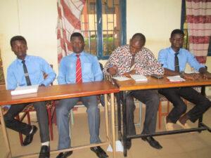 2016-2017 L'équipe de l'UPO au Concours d'Art Oratoire Inter-établissements