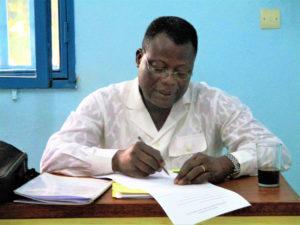 Professeur COULIBALEY Babakane, du Togo (Université de KARA)