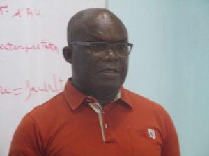 Professeur DECKON François, du Togo (Université de Lomé) (2)