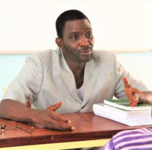 Professeur DEWEDI Eric, du Bénin (Université de Parakou)