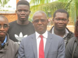 Professeur DIALLO Ibrahima, du Sénégal (Université Gaston Berger de Saint-Louis)