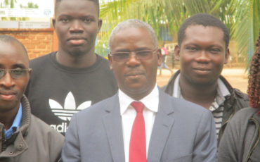 Professeur DIALLO Ibrahima, du Sénégal (Université Gaston Berger de Saint-Louis)