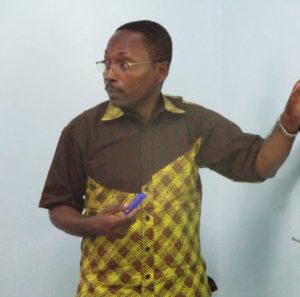 Professeur KENMOGNE SIMO Alain, du Cameroun (Université de Yaoundé)