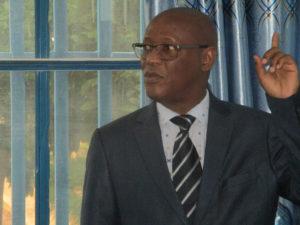 Professeur LY Ibrahima, du Sénégal (Université Cheick Anta Diop)