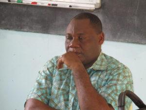 Professeur NZOUABETH Dieunedort, du Sénégal (Université Cheick Anta Diop)